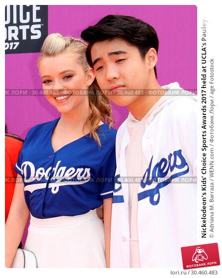 Nickelodeon's Kids' Choice Sports Awards 2017 held at UCLA's Pauley... Редакционное фото, фотограф Adriana M. Barraza / WENN.com / age Fotostock / Фотобанк Лори