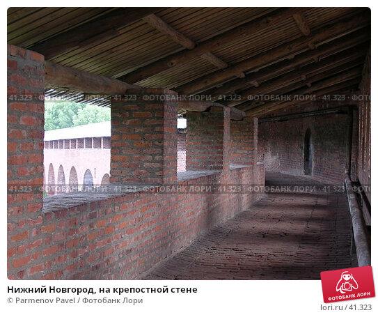 Нижний Новгород, на крепостной стене, фото № 41323, снято 15 июня 2005 г. (c) Parmenov Pavel / Фотобанк Лори