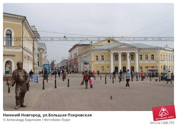 Нижний Новгород, ул.Большая Покровская, фото № 266731, снято 21 февраля 2017 г. (c) Александр Карачкин / Фотобанк Лори