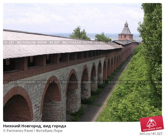 Нижний Новгород, вид города, фото № 41327, снято 15 июня 2005 г. (c) Parmenov Pavel / Фотобанк Лори