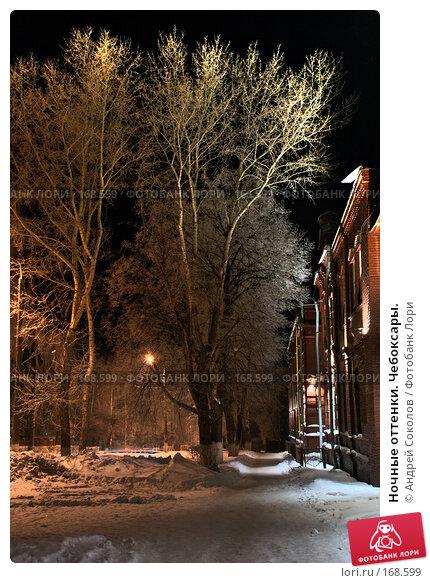 Ночные оттенки. Чебоксары., фото № 168599, снято 7 января 2008 г. (c) Андрей Соколов / Фотобанк Лори