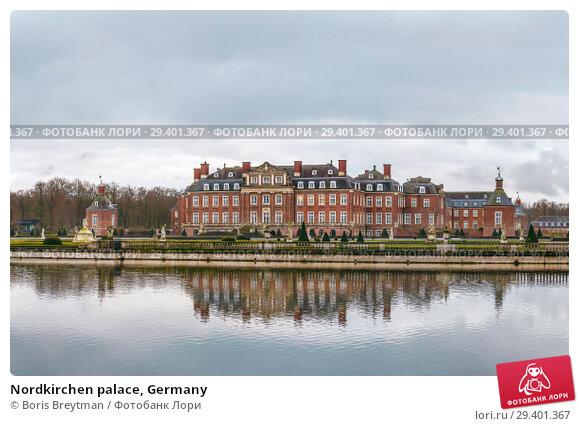 Купить «Nordkirchen palace, Germany», фото № 29401367, снято 2 февраля 2018 г. (c) Boris Breytman / Фотобанк Лори