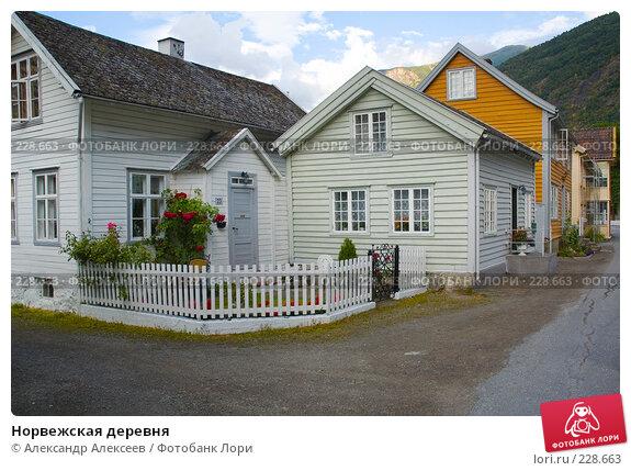 Купить «Норвежская деревня», эксклюзивное фото № 228663, снято 30 июля 2006 г. (c) Александр Алексеев / Фотобанк Лори