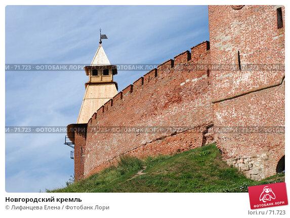 Новгородский кремль, фото № 71723, снято 10 августа 2007 г. (c) Лифанцева Елена / Фотобанк Лори