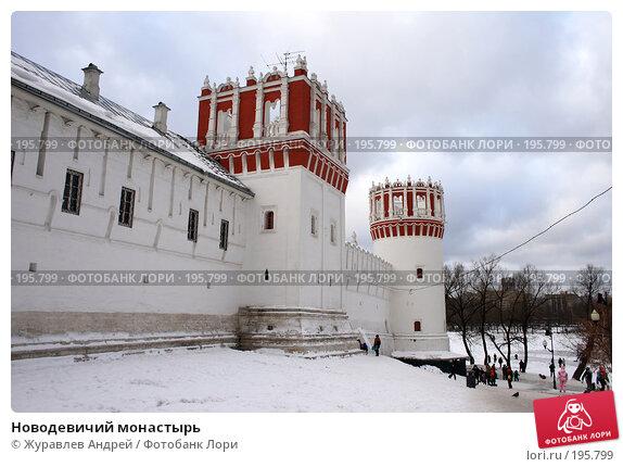 Новодевичий монастырь, эксклюзивное фото № 195799, снято 27 января 2008 г. (c) Журавлев Андрей / Фотобанк Лори