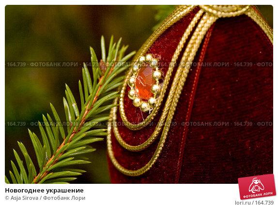 Новогоднее украшение, фото № 164739, снято 25 декабря 2007 г. (c) Asja Sirova / Фотобанк Лори