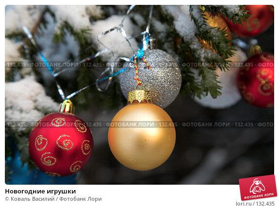Новогодние игрушки, фото № 132435, снято 10 ноября 2007 г. (c) Коваль Василий / Фотобанк Лори