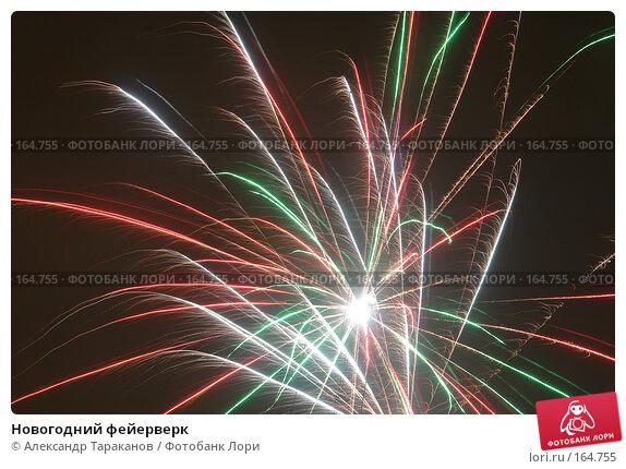 Купить «Новогодний фейерверк», эксклюзивное фото № 164755, снято 1 января 2008 г. (c) Александр Тараканов / Фотобанк Лори