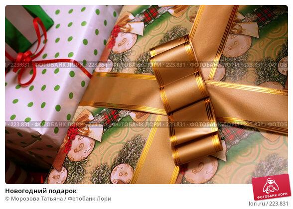 Новогодний подарок, фото № 223831, снято 29 декабря 2007 г. (c) Морозова Татьяна / Фотобанк Лори