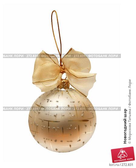 Новогодний шар, фото № 272831, снято 5 декабря 2006 г. (c) Морозова Татьяна / Фотобанк Лори