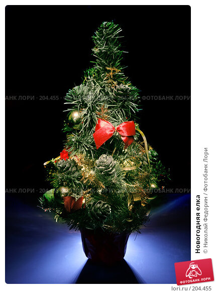 Новогодняя елка, фото № 204455, снято 28 декабря 2007 г. (c) Николай Федорин / Фотобанк Лори