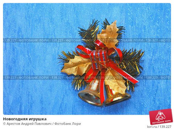 Новогодняя игрушка, фото № 139227, снято 27 мая 2017 г. (c) Арестов Андрей Павлович / Фотобанк Лори