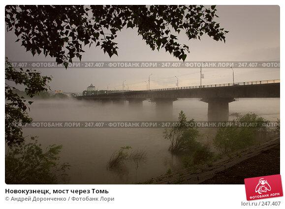 Новокузнецк, мост через Томь, фото № 247407, снято 26 мая 2017 г. (c) Андрей Доронченко / Фотобанк Лори