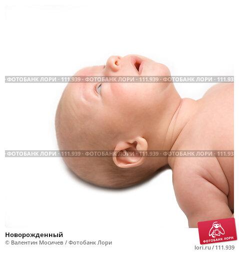 Новорожденный, фото № 111939, снято 21 ноября 2006 г. (c) Валентин Мосичев / Фотобанк Лори