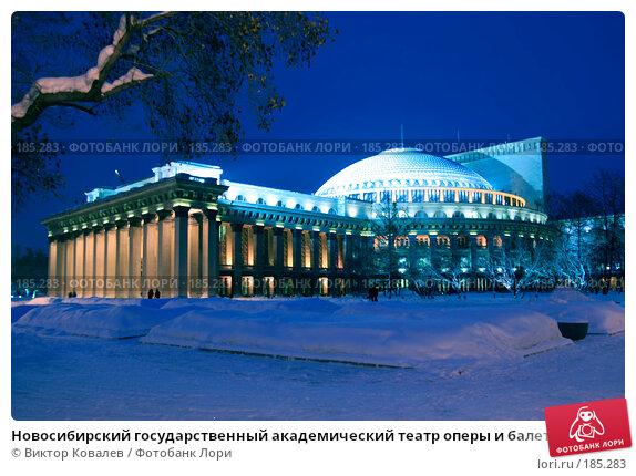 Новосибирский государственный академический театр оперы и балета (НГАТОиБ), фото № 185283, снято 20 января 2008 г. (c) Виктор Ковалев / Фотобанк Лори