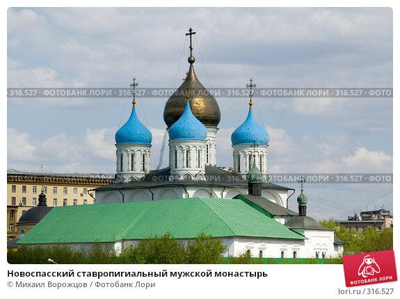 Новоспасский ставропигиальный мужской монастырь, фото № 316527, снято 27 апреля 2008 г. (c) Михаил Ворожцов / Фотобанк Лори