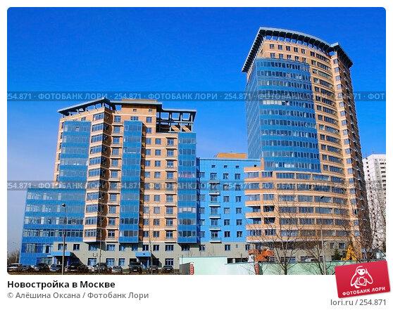 Купить «Новостройка в Москве», эксклюзивное фото № 254871, снято 3 апреля 2008 г. (c) Алёшина Оксана / Фотобанк Лори