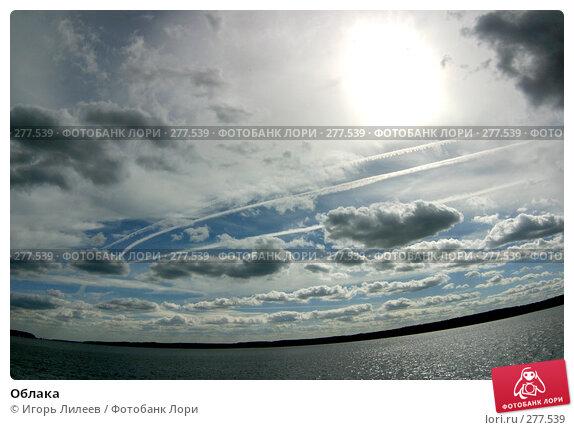 Облака, фото № 277539, снято 18 сентября 2004 г. (c) Игорь Лилеев / Фотобанк Лори