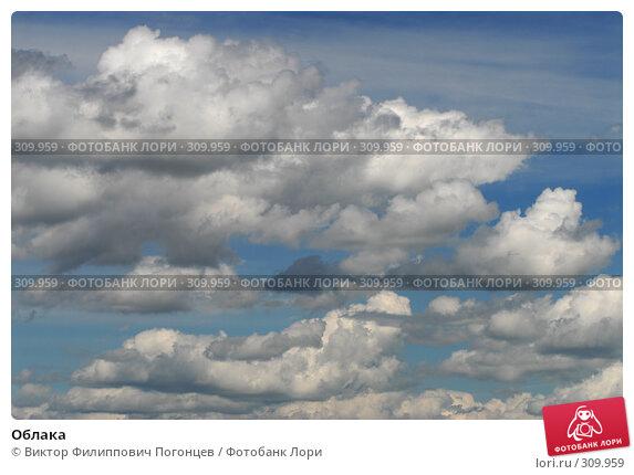 Облака, фото № 309959, снято 1 июня 2008 г. (c) Виктор Филиппович Погонцев / Фотобанк Лори