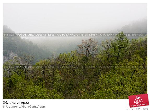 Облака в горах, фото № 318803, снято 27 апреля 2008 г. (c) Argument / Фотобанк Лори