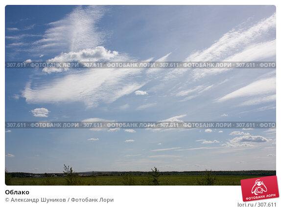 Облако, фото № 307611, снято 2 июня 2008 г. (c) Александр Шуников / Фотобанк Лори