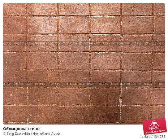 Купить «Облицовка стены», фото № 134735, снято 11 марта 2006 г. (c) Serg Zastavkin / Фотобанк Лори