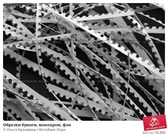 Обрезки бумаги, монохром, фон, фото № 10859, снято 18 августа 2006 г. (c) Ольга Красавина / Фотобанк Лори