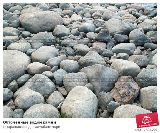 Обточенные водой камни, фото № 304207, снято 11 июня 2006 г. (c) Тарановский Д. / Фотобанк Лори