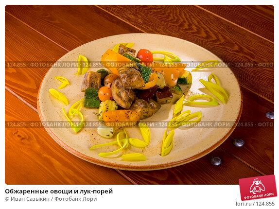 Купить «Обжаренные овощи и лук-порей», фото № 124855, снято 12 февраля 2007 г. (c) Иван Сазыкин / Фотобанк Лори