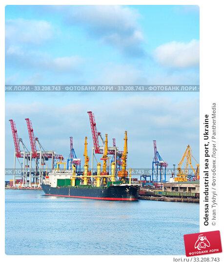 Купить «Odessa industrial sea port, Ukraine», фото № 33208743, снято 30 мая 2020 г. (c) PantherMedia / Фотобанк Лори