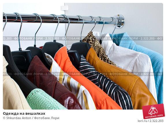 Купить «Одежда на вешалках», фото № 2322203, снято 5 февраля 2011 г. (c) Shkurdau Anton / Фотобанк Лори