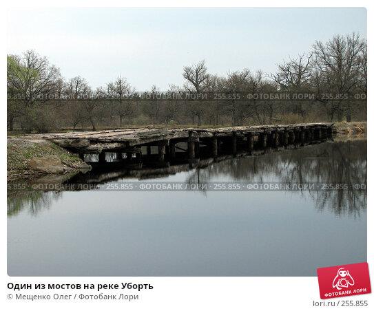 Один из мостов на реке Уборть, фото № 255855, снято 9 апреля 2008 г. (c) Мещенко Олег / Фотобанк Лори