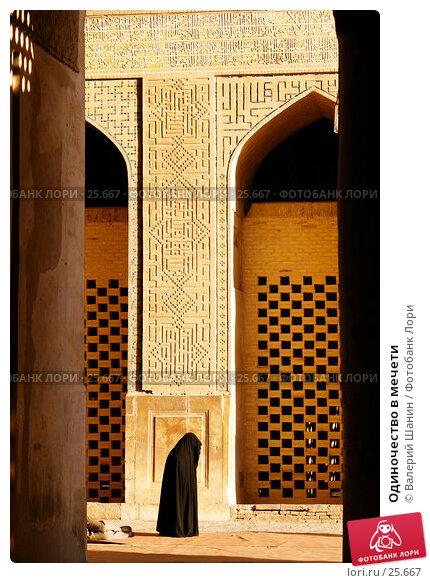 Одиночество в мечети, фото № 25667, снято 28 ноября 2006 г. (c) Валерий Шанин / Фотобанк Лори