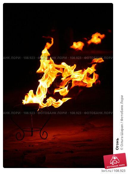 Огонь, фото № 108923, снято 13 августа 2007 г. (c) Ольга Шаран / Фотобанк Лори