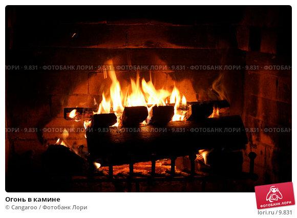 Огонь в камине, фото № 9831, снято 19 августа 2006 г. (c) Cangaroo / Фотобанк Лори