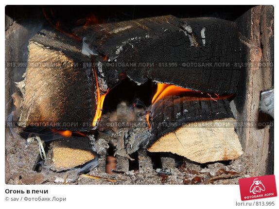 Купить «Огонь в печи», фото № 813995, снято 5 апреля 2009 г. (c) sav / Фотобанк Лори