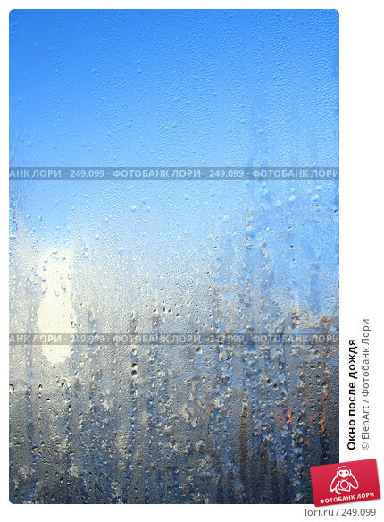 Окно после дождя, фото № 249099, снято 23 мая 2017 г. (c) ElenArt / Фотобанк Лори