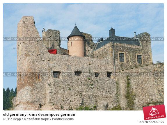 Купить «old germany ruins decompose german», фото № 8909127, снято 23 апреля 2019 г. (c) PantherMedia / Фотобанк Лори