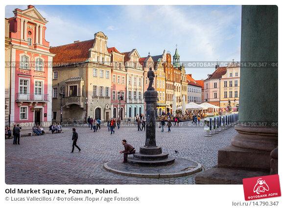 Купить «Old Market Square, Poznan, Poland.», фото № 14790347, снято 18 июня 2019 г. (c) age Fotostock / Фотобанк Лори