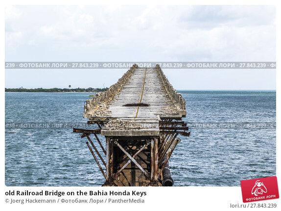 Купить «old Railroad Bridge on the Bahia Honda Keys», фото № 27843239, снято 18 октября 2018 г. (c) PantherMedia / Фотобанк Лори