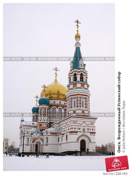Купить «Омск. Возрожденный Успенский собор», фото № 228103, снято 2 января 2008 г. (c) Julia Nelson / Фотобанк Лори