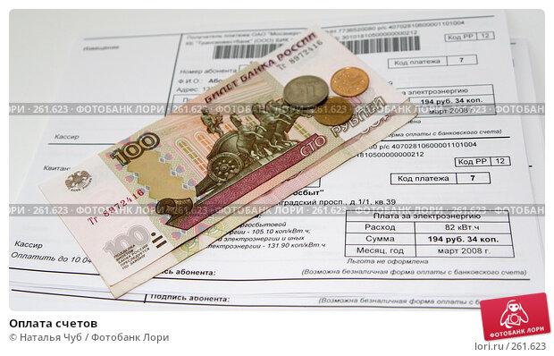 Оплата счетов, фото № 261623, снято 17 апреля 2008 г. (c) Наталья Чуб / Фотобанк Лори