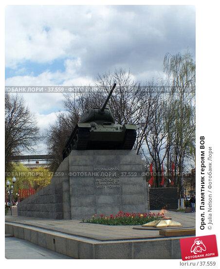 Купить «Орел. Памятник героям ВОВ», фото № 37559, снято 30 апреля 2007 г. (c) Julia Nelson / Фотобанк Лори