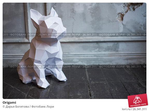 Купить «Origami», фото № 26341311, снято 18 марта 2017 г. (c) Дарья Богитова / Фотобанк Лори