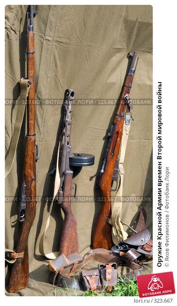 Оружие Красной Армии времен Второй мировой войны, фото № 323667, снято 12 июня 2008 г. (c) Яков Филимонов / Фотобанк Лори