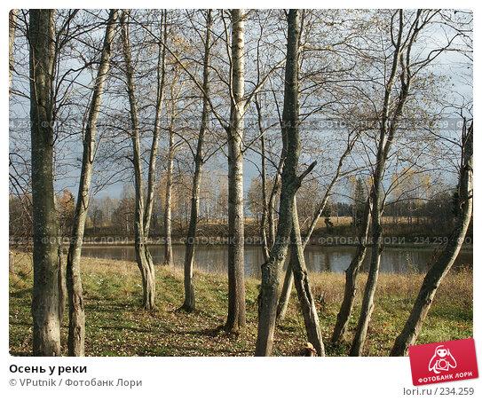 Осень у реки, фото № 234259, снято 8 октября 2005 г. (c) VPutnik / Фотобанк Лори