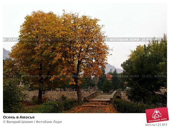 Осень в Амасье, фото № 21911, снято 8 ноября 2006 г. (c) Валерий Шанин / Фотобанк Лори