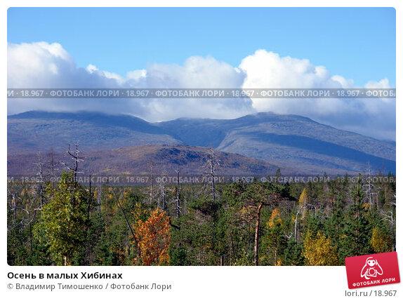 Осень в малых Хибинах, фото № 18967, снято 14 сентября 2006 г. (c) Владимир Тимошенко / Фотобанк Лори