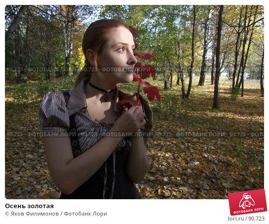 Осень золотая, фото № 90723, снято 28 сентября 2007 г. (c) Яков Филимонов / Фотобанк Лори