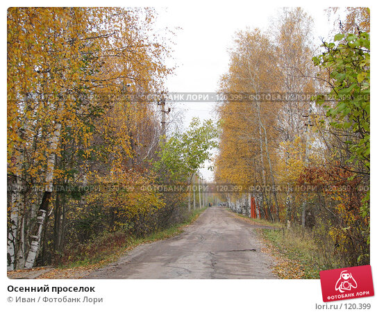 Осенний проселок, фото № 120399, снято 22 октября 2007 г. (c) Иван / Фотобанк Лори